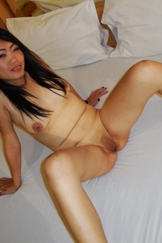 Thai Brunette Gets Her Face And Pussy Fucked
