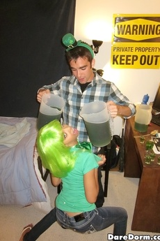 Crazy Hot College Babes Fucked Hard In This Happy Irish Day Fucking Party Dorm Sex Vids