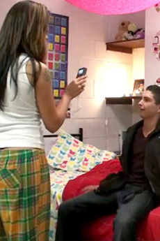 Hot College Teens Fuck In The Dorm Hallways In These Hot Real Amateur College Sex Party Movie