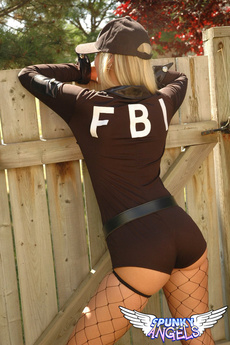 Alicia As The Naughty Fbi Agent