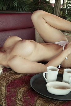 The Young And Sexy Whitney Taylor Is Your Waitress