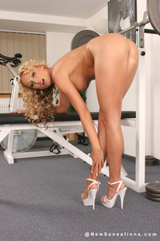 Sue Diamond Ready To Work Out Pussy