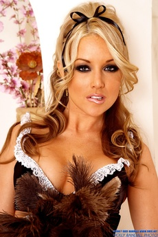 Delicious Kayden Kross In A Maids Outfit
