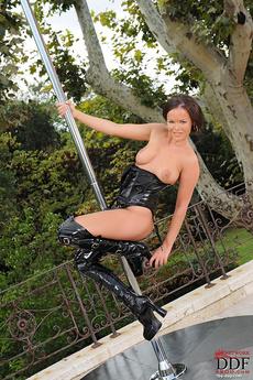 Outdoor Stripper Pole Show!