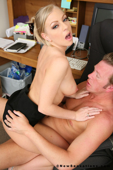 Britnney Brookes Big Cock Fucking At Work