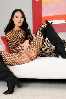 Asa In Fishnets