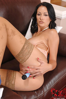 Hungarian Beauty Masturbating picture 12