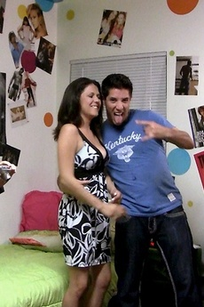 Check Out These Hot Teen College Babes Get Fucked In This College Dorm Room Fuck Pic Set picture 9
