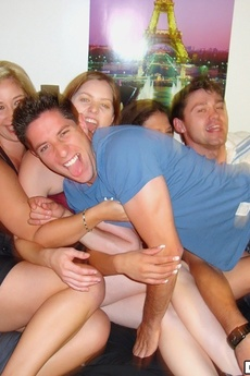 Check Out These 3 Hot College Babes Masterbate And Fuck Eachother While Their Girlfriend Gets A Hard Fuck In This College Dorm Party Hot Pics picture 13