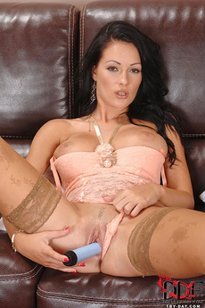 Hungarian Beauty Masturbating picture 10