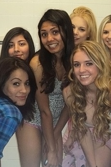 Hot College Pink Booty Shorts Teens Fuck And Masturbate Each Other In These Bathroom Sex Party Pics picture 6