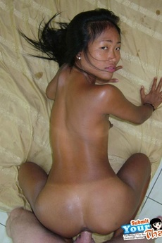 Threesome With 2 Cute Thai Sluts And One Happy Horny White Dude picture 9