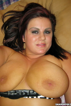Bbw Girlfriend Shows Off Her Big Juicy Tits And Round Plump Ass picture 7