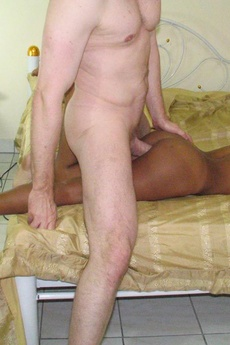 Threesome With 2 Cute Thai Sluts And One Happy Horny White Dude picture 13