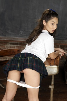 Cute Asian Schoolgirl Spreading picture 15
