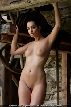 Sexy Babe Elena Gives Us An Opportunity To See Her Amazing Body With Shavd Pussy And Cute Tits picture 14