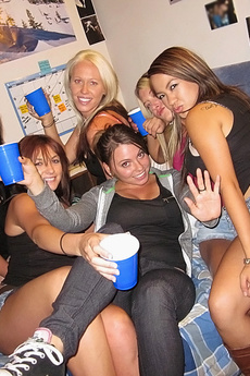 Horny Mini Skirt College Teens Make Out And Fuck After A Few Drinks Real College Amateur Sex Party picture 2