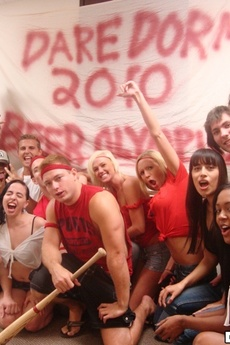 Sexy College Teens In Undies Get Fucked And Creamed In These Real Crazy College Party Fuck Pics picture 1