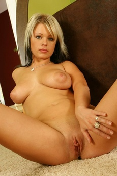 Busty Babe Strips picture 10